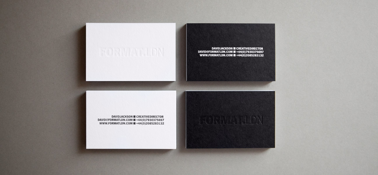 FORMAT.LDN® - FORMAT.LDN Business Cards